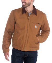 Carhartt Duck Detroit - Jakke - Carhartt Brown