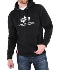 Alpha Industries Basic Hoody - Hettegenser - Svart (178312-03)