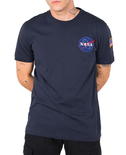 Alpha Industries Space Shuttle T - T-skjorte - Rep. Blue (176507-07)