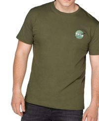 Alpha Industries Space Shuttle T - T-skjorte - Dark Green (176507-257)