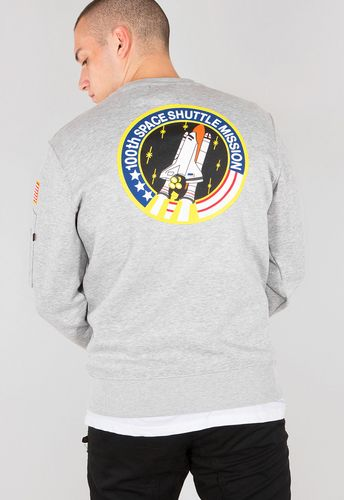 Alpha Industries Space Shuttle - Genser - Grå (178317-17)