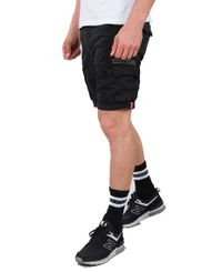 Alpha Industries Crew - Shorts - Svart (176203-03)