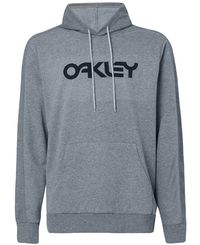 Oakley Reverse Hoodie - Herre - Hettegenser - New Granite Heather (FOA400452-28B)