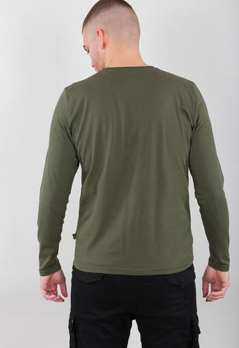 Alpha Industries Basic T LS - Trøye - Dark Olive (100510-142)