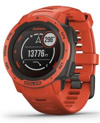 GARMIN Instinct Solar - Klokke - Flame red