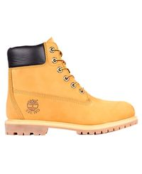 TIMBERLAND 6in Premium Shearling Lined WP Ws - Sko - Wheat