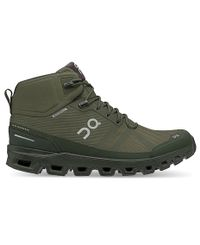 On Cloudrock Waterproof - Sko - Jungle/ Fir (ONM23-2543)