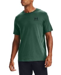 Under Armour Sportstyle LC - T-skjorte - Saxon Green/Black