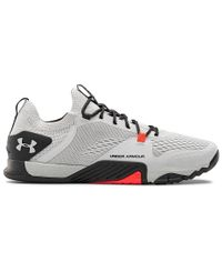 Under Armour TriBase Reign 2 - Sko - Halo Gray/ Blackout Purple (3022613-101)