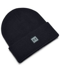 Under Armour Truckstop Beanie -  - Lue - Black/ Pitch Gray - (1356707-001)