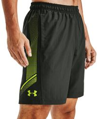 Under Armour Woven Graphic - Shorts - Baroque Green/Green Citrine