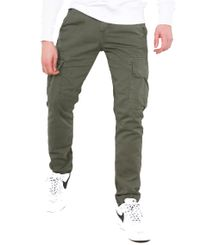 Alpha Industries Agent - Bukse - Dark Olive (158205-142)