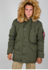 Alpha Industries Polar - Jakke - Dark Green (123144-257)