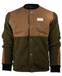 Amundsen Field Fleece Wool - Jakke - Nato (MJA53.2.480)