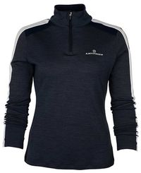 Amundsen 5Mila Half Zip Womens - Genser - Faded Navy