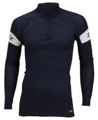 Swix RaceX Warm Bodyw Halfzip Ms - Trøye - Dark Navy
