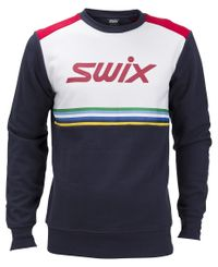 Swix Swix Sweater Ms - Genser - Dark Navy/Snow White