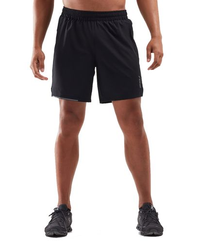2XU XVENT 7 Inch - Shorts - Svart (MR6239b)