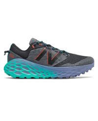 New Balance Fresh Foam More Trail v1 Womens - Sko - Grå