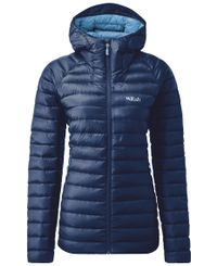 Rab Microlight Alpine Womens - Jakke - Twilight / Sargasso (QXD-81-TW)