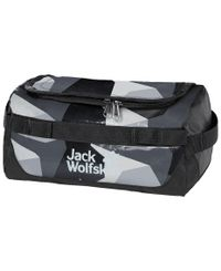 Jack Wolfskin Expedition -  - Toalettmappe - Grey Geo Block - (8006861-8122)