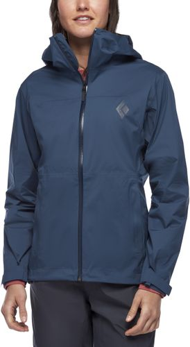 Black Diamond Stormline Stretch Rain Shell Wmns - Jakke - Ink Blue (APM697-INK)