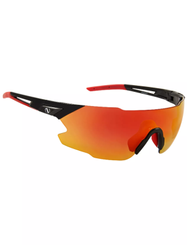 Northug Silver Performance Narrow 2.0 - Sportsbriller - Black/Red (PN05041-901-2)