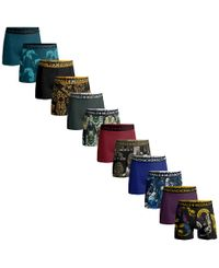Muchachomalo Golden Offer Print/ Solid 12pk - Boxershorts (1010FREE01)