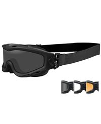Wiley X Spear Dual Smoke/ Clear/ Rust - Goggles - Matte Black (SP293DLB)