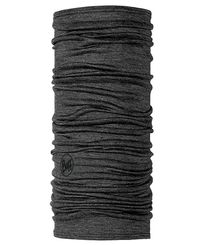 Buff Lightweight Merino Wool - Hals - Solid Grey (BU10020200)