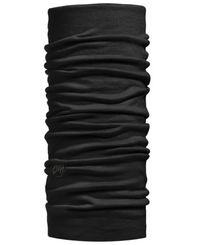 Buff Lightweight Merino Wool - Hals - Solid Black (BU10063700)