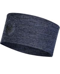 Buff 2L Midweight Merino Wool - Pannebånd - Night Blue Melange (BU11817477910)