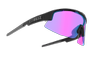 Bliz Matrix Small Nano Optics Black - Sportsbriller - Nordic Light Begonia (52007-14N)