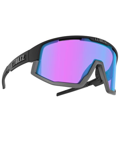 Bliz Fusion Nano Optics Black - Sportsbriller - Nordic Light Begonia (52105-14N)