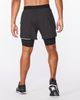 "2XU Aero 2in1 5"" - Shorts - Svart (MR6535b-BL)"