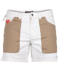 Amundsen 6 Incher Denim - Shorts - Hvit