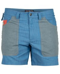 Amundsen 6 Incher Denim - Shorts - Azure Blue