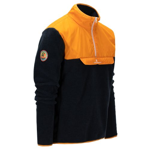 Amundsen Roamer Fleece - Genser - Golden Pyre/Navy (MSW58.1.311)
