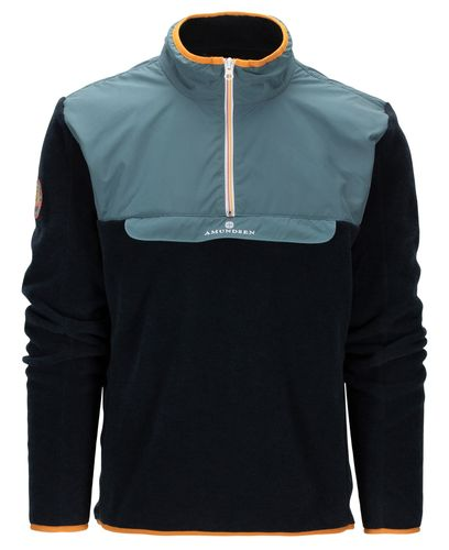 Amundsen Roamer Fleece - Genser - Faded Blue/Navy (MSW58.1.521)