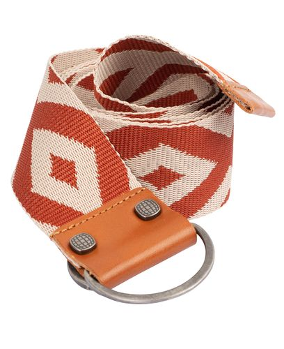 Amundsen Woven Belt In Bag 100 - Belte - Desert/ Rustic Brown (UBE03.1.620.100)