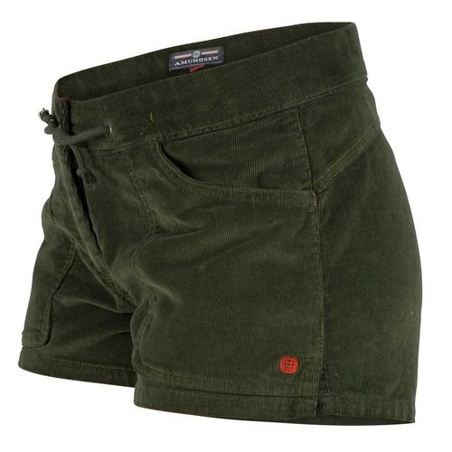 Amundsen 3 Incher Concord G.Dyed Womens - Shorts - Olive (WSS59.1.450)