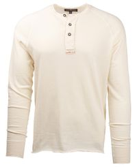 Amundsen Summer Wool Henley - Trøye - Natural (MSW59.1.610)
