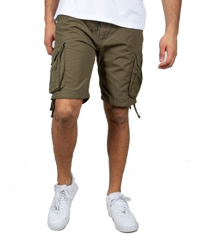 Alpha Industries Stream - Shorts - Grønn (186206-142)