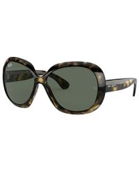 RAY-BAN Jackie Ohh II Tortoise - Solbriller - Green