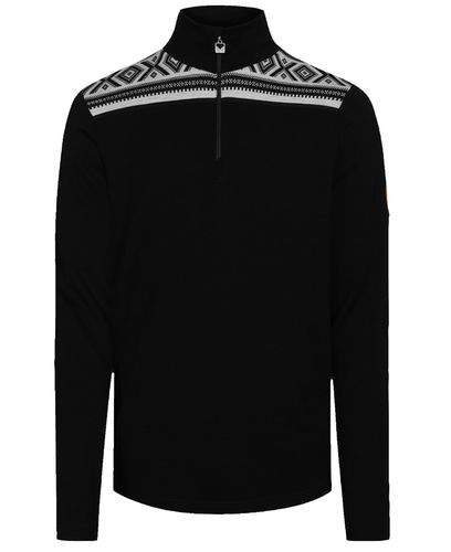 Dale of Norway Cortina Basic - Genser - Black Offwhite (93531-F)