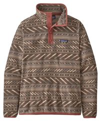 Patagonia W's Micro D Snap-T P/O - Genser - Bergy Bits: Furry Taupe