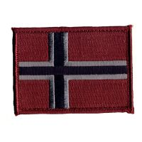 Patch Velcro - Subdied - Norge - Flagg (NWS-NFL-SUB)