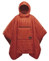 Therm-a-Rest Honcho Poncho - Teppe - Tomato (TAR10713)