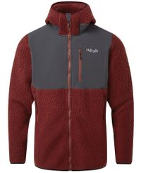 Rab Outpost - Jakke - Oxblood Red (QFB-31-OR)