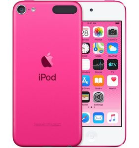 APPLE IPOD TOUCH 128GB - PINK                                  IN CABL (MVHY2KS/A)